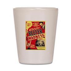 Vintage Reefer Madness Shot Glass