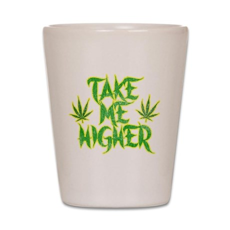 Take Me Higher (Vintage) Shot Glass