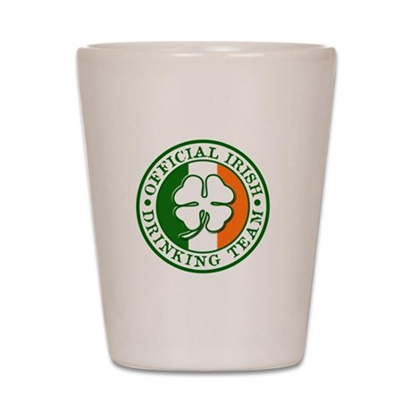 Official Irish Drinking Team Shot Glass