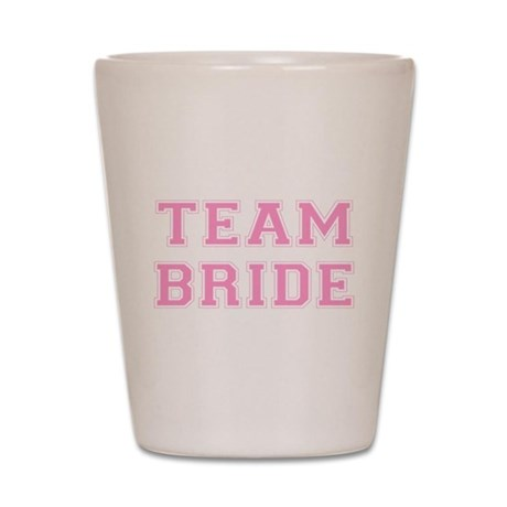 Team Bride Shot Glass