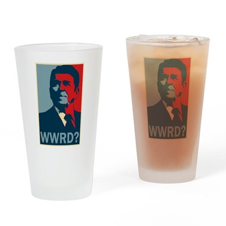 WWRD? Pint Glass