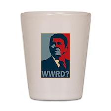 WWRD? Shot Glass