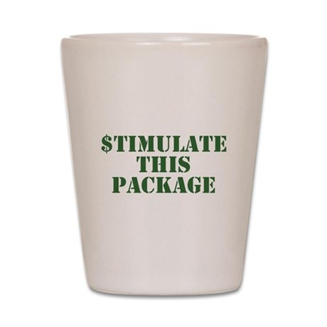 Stimulate This Package Shot Glass