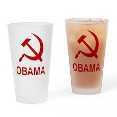 Socialist Obama Pint Glass