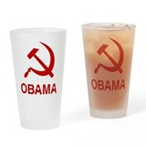 Socialist Obama Pint Glass