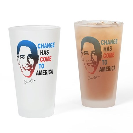 Change Has Come Pint Glass