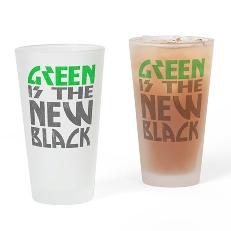 Green is the New Black Pint Glass