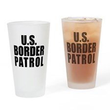 U.S. Border Patrol Pint Glass