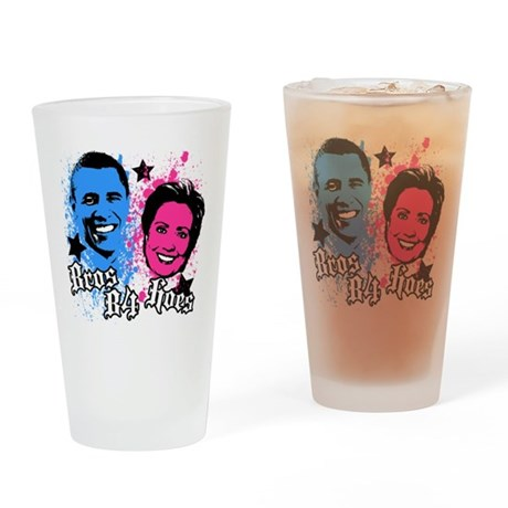Bros Before Hoes Pint Glass