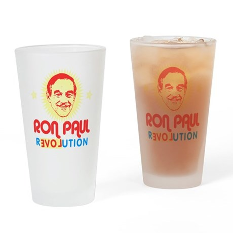 Ron Paul 2012 Drinking Glass