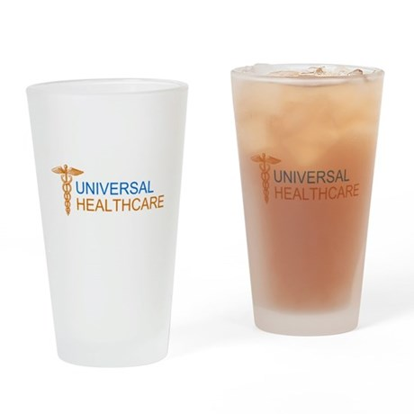 Universal Healthcare Pint Glass