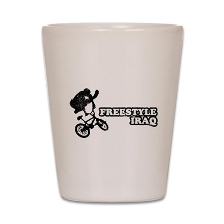 Freestyle Iraq Shot Glass