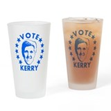 Vote Kerry Pint Glass