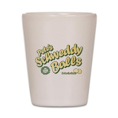 Schweddy Balls SNL Shot Glass
