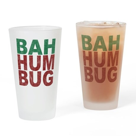 Bah Humbug Pint Glass