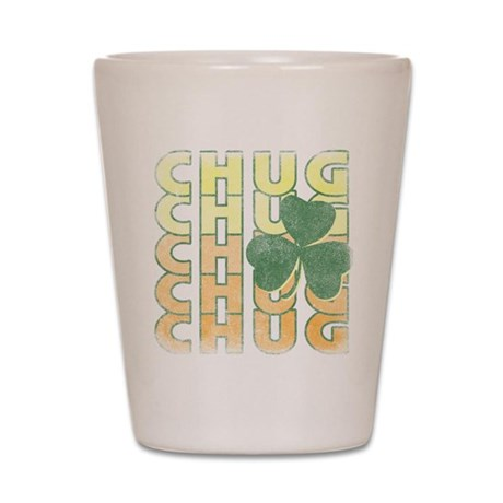 Irish Chug Shot Glass