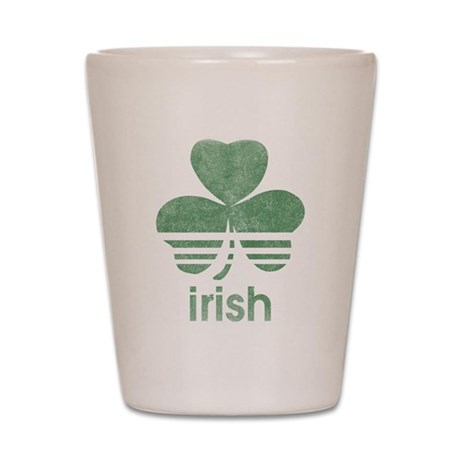 Vintage Irish Logo Shot Glass