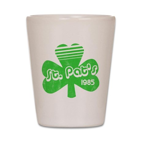 Retro St. Pat's Shot Glass