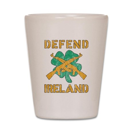 Defend Ireland Shot Glass