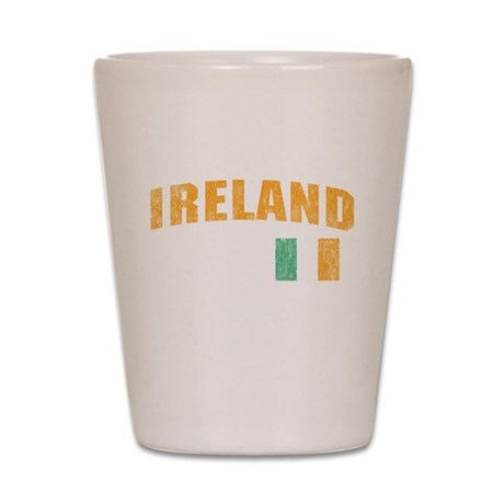 Vintage Ireland Soccer Shot Glass