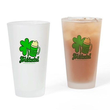Sl�inte! Pint Glass