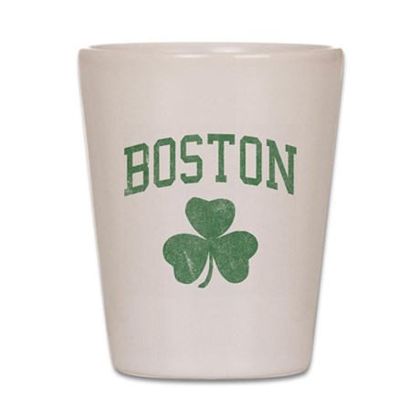 Boston Irish Shot Glass