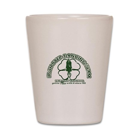P.H.S. Irish Step-Dancing Shot Glass