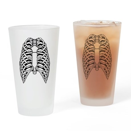 Ribs Pint Glass