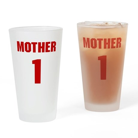 #1 Mother - Jersey Pint Glass