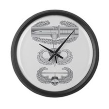 CAB Airborne Air Assault Large Wall Clock