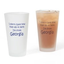 From Georgia Drinking Glass