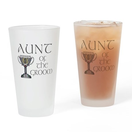 Celtic Aunt of Groom Pint Glass