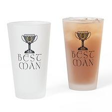Celtic Best Man Pint Glass