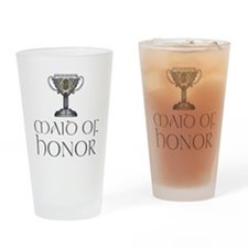 Celtic Maid of Honor Pint Glass