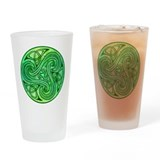 Celtic Triskele Pint Glass