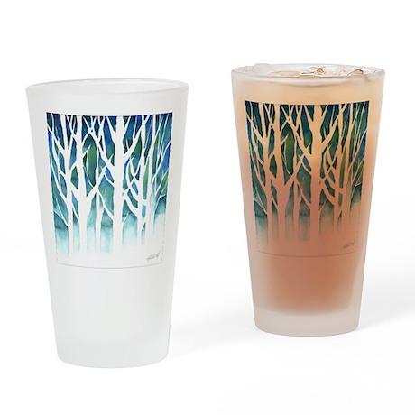Winter Silhouette Pint Glass
