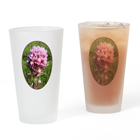 Purple Owl's Clover Pint Glass