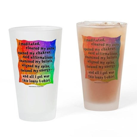 Spiritual Lousy T-Shirt Pint Glass