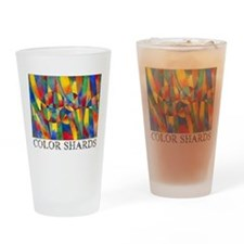 Color Shards Pint Glass