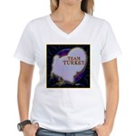 Team Turkey Women's V-Neck T-Shirt