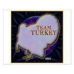 Team Turkey Small Poster