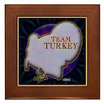 Team Turkey Framed Tile