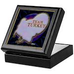 Team Turkey Keepsake Box