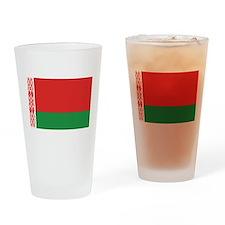 Flag of Belarus Pint Glass