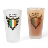 Number One Irish Grandpa Pint Glass