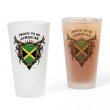 Proud to be Jamaican Pint Glass