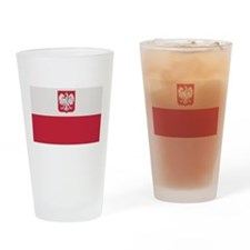 Flag of Poland Pint Glass