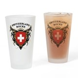 Switzerland Rocks Pint Glass