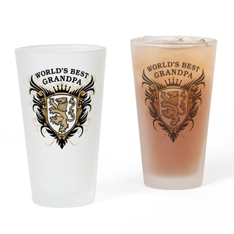 World's Best Grandpa Pint Glass