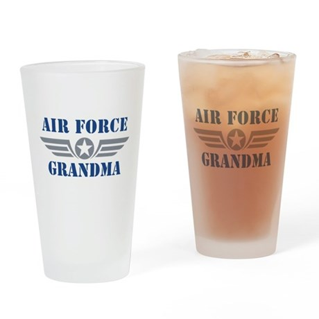 Air Force Grandma Pint Glass